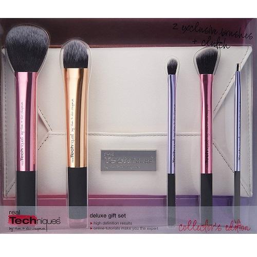 Set de brochas de maquillaje Real Techniques para coleccionistas