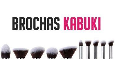 Brochas de maquillaje kabuki