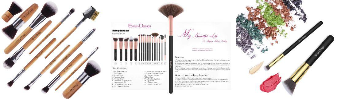 brochas maquillaje emaxdesign