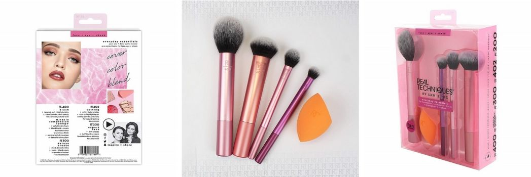 brochas maquillaje real techniques